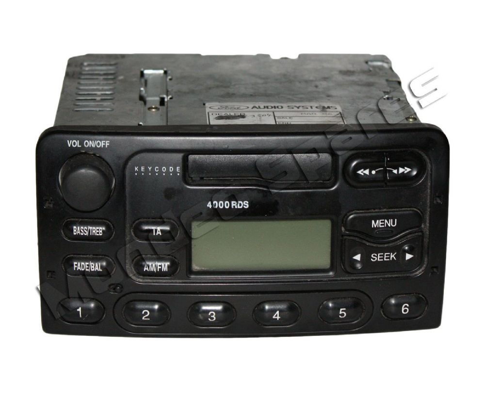 ford 4000 rds radio cassette tape player mondeo cougar